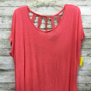 Primary Photo - BRAND: LANE BRYANT STYLE: TOP SHORT SLEEVE COLOR: MELON SIZE: 22 SKU: 127-4169-32692