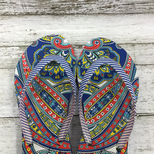 Primary Photo - BRAND: VERA BRADLEY STYLE: SANDALS COLOR: MULTI SIZE: 8 SKU: 127-2767-91473THESE VERA BRADLEY FLIP FLOPS ARE VERY CLEAN AND IN GOOD CONDITION.