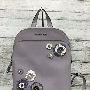 Primary Photo - BRAND: MICHAEL KORS STYLE: BACKPACK COLOR: LAVENDER SIZE: MEDIUM SKU: 127-3371-47507THIS FLORAL MINI BACKPACK IS STUNNING! IT IS IN GREAT CONDITION.
