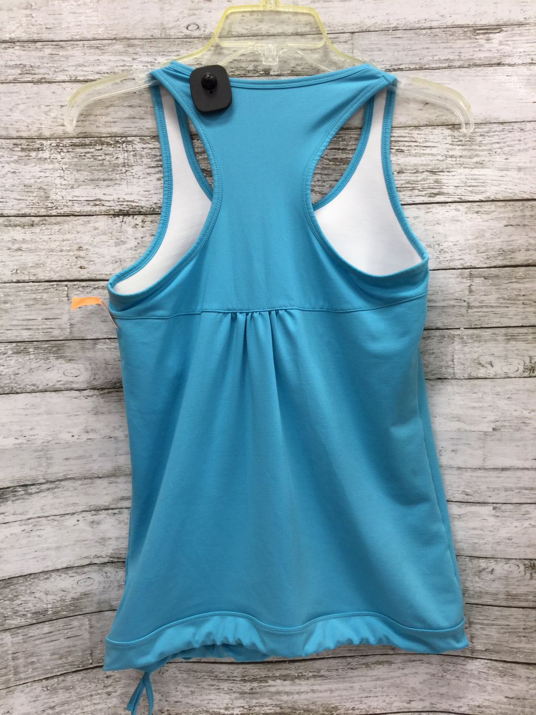Photo #3 - BRAND: ATHLETA , STYLE: ATHLETIC TANK TOP , COLOR: TURQUOISE , SIZE: S , SKU: 127-4169-22672, , TIE BOTTOM ATHLETA TANK IN GOOD CONDITION. BUILT IN SPORTS BRA.