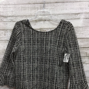 Primary Photo - BRAND: TALBOTS O STYLE: TOP LONG SLEEVE COLOR: BLACK WHITE SIZE: PETITE LARGE SKU: 127-3371-43174IN VERY GOOD CONDITION.
