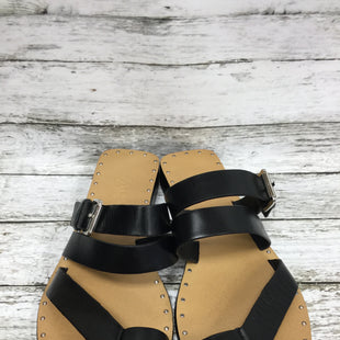 Primary Photo - BRAND:    CMD STYLE: SANDALS COLOR: BLACK SIZE: 8.5 OTHER INFO: ZARA - SKU: 127-4876-8458THESE ZARA SANDALS ARE VERY CLEAN AND DON'T LOOK LIKE THEY HAVE BEEN WORN MUCH.