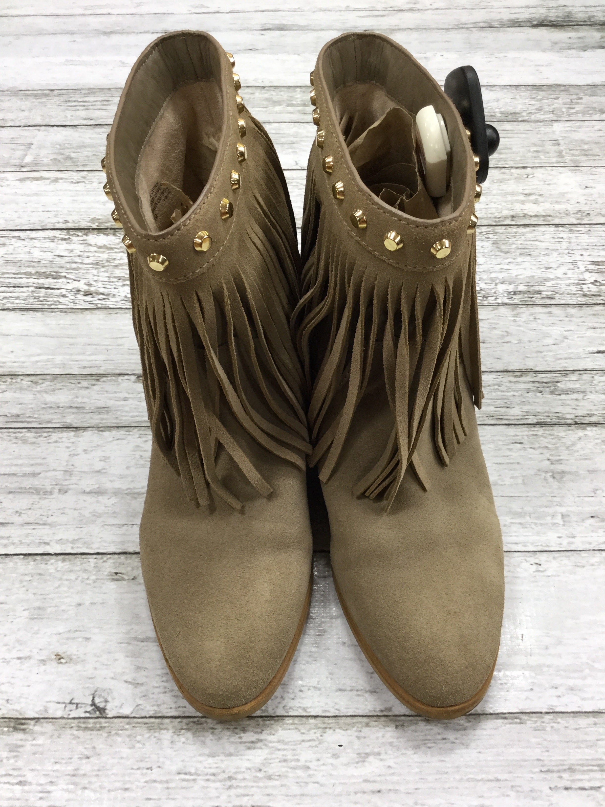 Primary Photo - BRAND: MICHAEL BY MICHAEL KORS , STYLE: BOOTS ANKLE , COLOR: TAN , SIZE: 7.5 , OTHER INFO: AS IS , SKU: 127-4559-13453