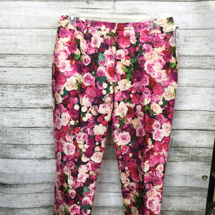 Primary Photo - BRAND: KATE SPADE STYLE: PANTS COLOR: FLORAL SIZE: 0 SKU: 127-4169-35723ROSE PRINTED PANTS BY KATE SPADE! FUN PINK ROSES AND LEAVES ALL OVER.