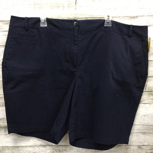 Primary Photo - BRAND: TALBOTS STYLE: SHORTS COLOR: NAVY SIZE: 22 SKU: 127-4954-4360