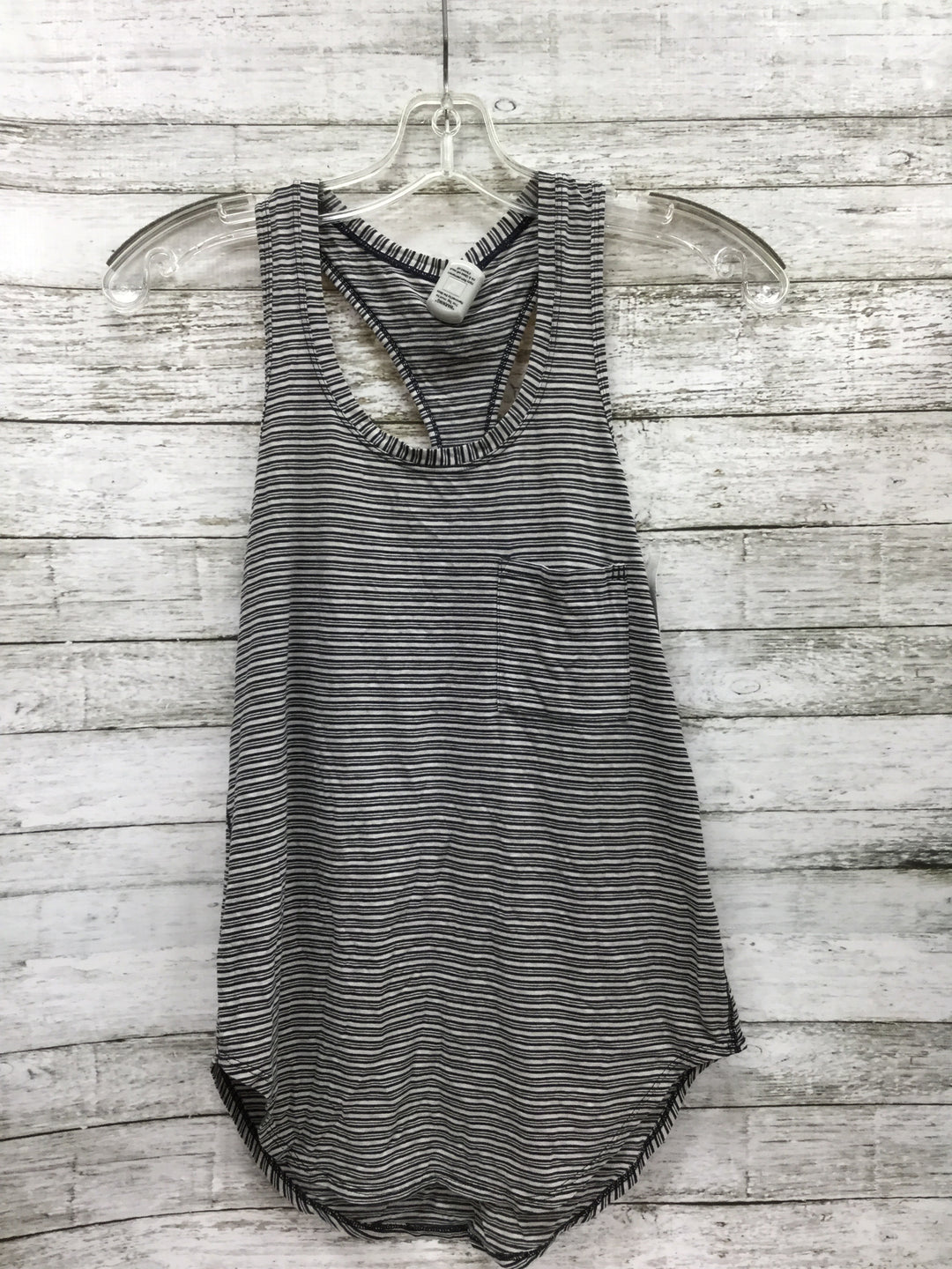 Primary Photo - BRAND: LULULEMON , STYLE: ATHLETIC TANK TOP , COLOR: BLACK WHITE , SIZE: S , SKU: 127-3371-47974