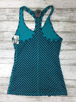 Photo #1 - BRAND: NIKE APPAREL <BR>STYLE: ATHLETIC TANK TOP <BR>COLOR: BLUE <BR>SIZE: XS <BR>SKU: 127-4559-5397