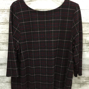 Primary Photo - BRAND: J JILL STYLE: TOP LONG SLEEVE COLOR: PLAID SIZE: XL SKU: 127-4008-9847PRETTY PLAID J. JILL TOP!