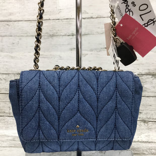 Primary Photo - BRAND: KATE SPADE STYLE: HANDBAG DESIGNER COLOR: DENIM BLUE SIZE: SMALL SKU: 127-4876-11771