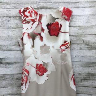 Primary Photo - BRAND: TAHARI STYLE: DRESS SHORT SLEEVELESS COLOR: RED WHITE SIZE: 16 OTHER INFO: NEW! SKU: 127-4954-3963
