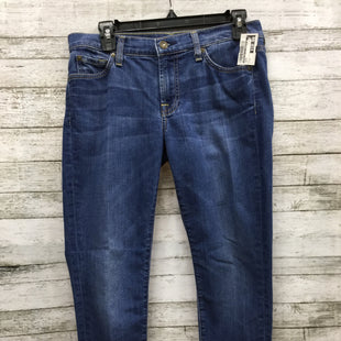 Primary Photo - BRAND: SEVEN FOR ALL MANKIND STYLE: JEANS COLOR: DENIM SIZE: 4 SKU: 127-4942-1861GENTLY USED AND IN GOOD CONDITION WITH MINOR WEAR.