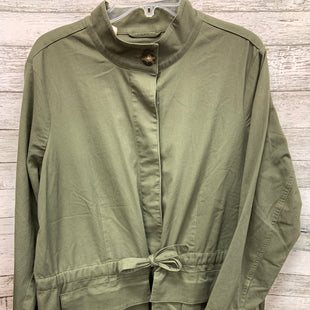 Primary Photo - BRAND: J JILL STYLE: JACKET OUTDOOR COLOR: GREEN SIZE: 1X OTHER INFO: NEW! SKU: 127-4942-3789
