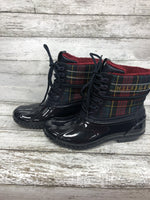 Primary Photo - BRAND: TOMMY HILFIGER , STYLE: BOOTS RAIN , COLOR: NAVY , SIZE: 7 , SKU: 127-4169-37092