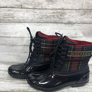 Primary Photo - BRAND: TOMMY HILFIGER STYLE: BOOTS RAIN COLOR: NAVY SIZE: 7 SKU: 127-4169-37092