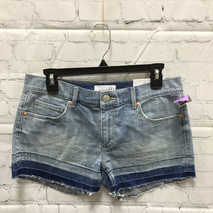 Primary Photo - BRAND: ANN TAYLOR LOFT STYLE: SHORTS COLOR: DENIM SIZE: 4 OTHER INFO: NEW! SKU: 127-3371-46743LIGHT WASH NWT RAW HEM DENIM SHORTS FROM LOFT!