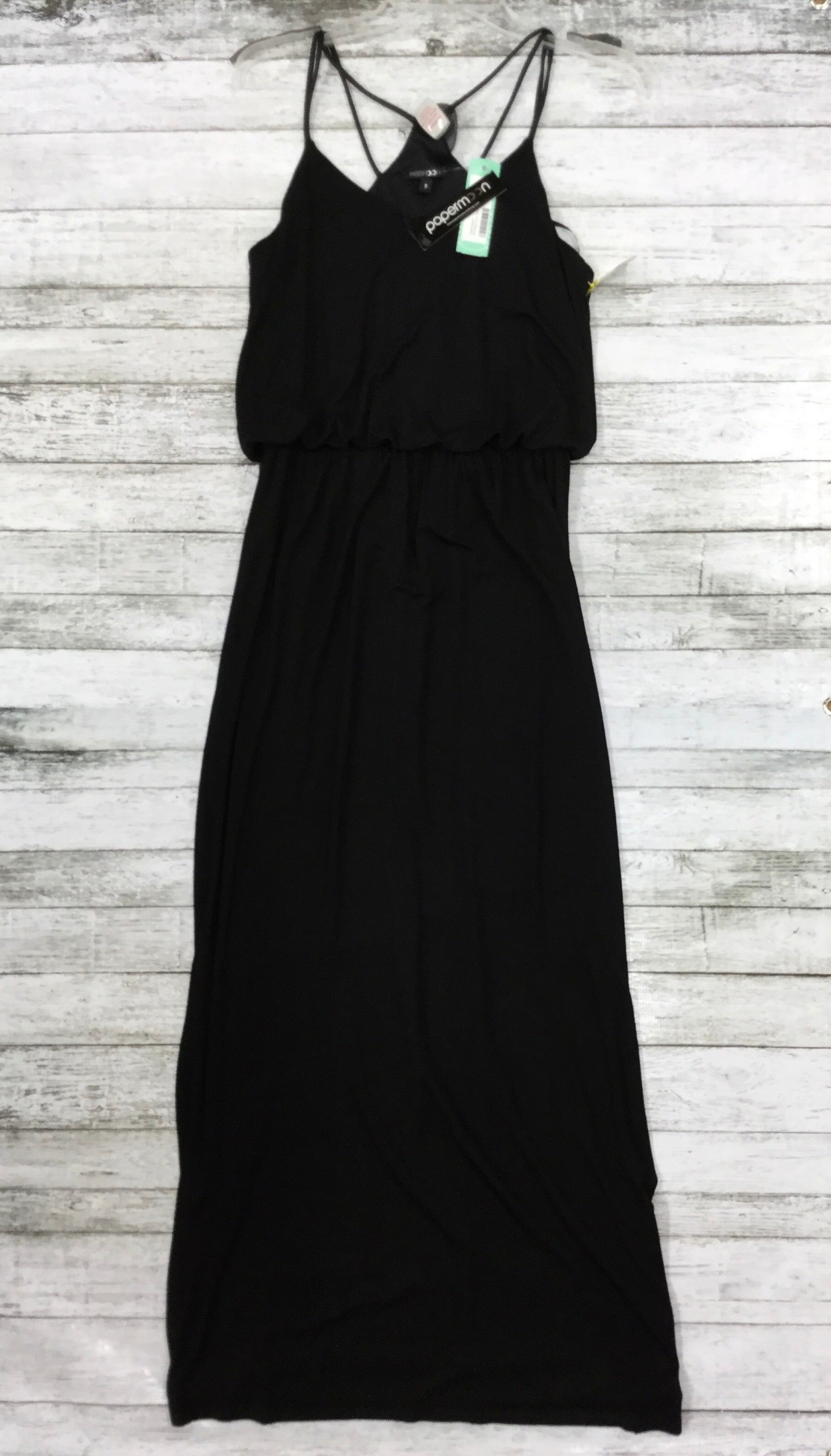 Primary Photo - BRAND: PAPERMOON , STYLE: DRESS LONG SLEEVELESS , COLOR: BLACK , SIZE: S , OTHER INFO: NEW! , SKU: 127-3371-43409