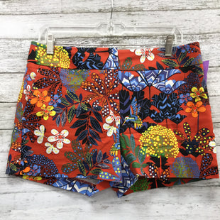 Primary Photo - BRAND: ANN TAYLOR LOFT STYLE: SHORTS COLOR: ORANGE BLUE SIZE: 6 SKU: 127-3371-46751FLORAL PATTERN ANN TAYLOR LOFT SHORTS.