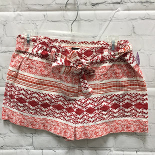Primary Photo - BRAND: ANN TAYLOR LOFT STYLE: SHORTS COLOR: RED WHITE SIZE: 4 SKU: 127-3371-46752