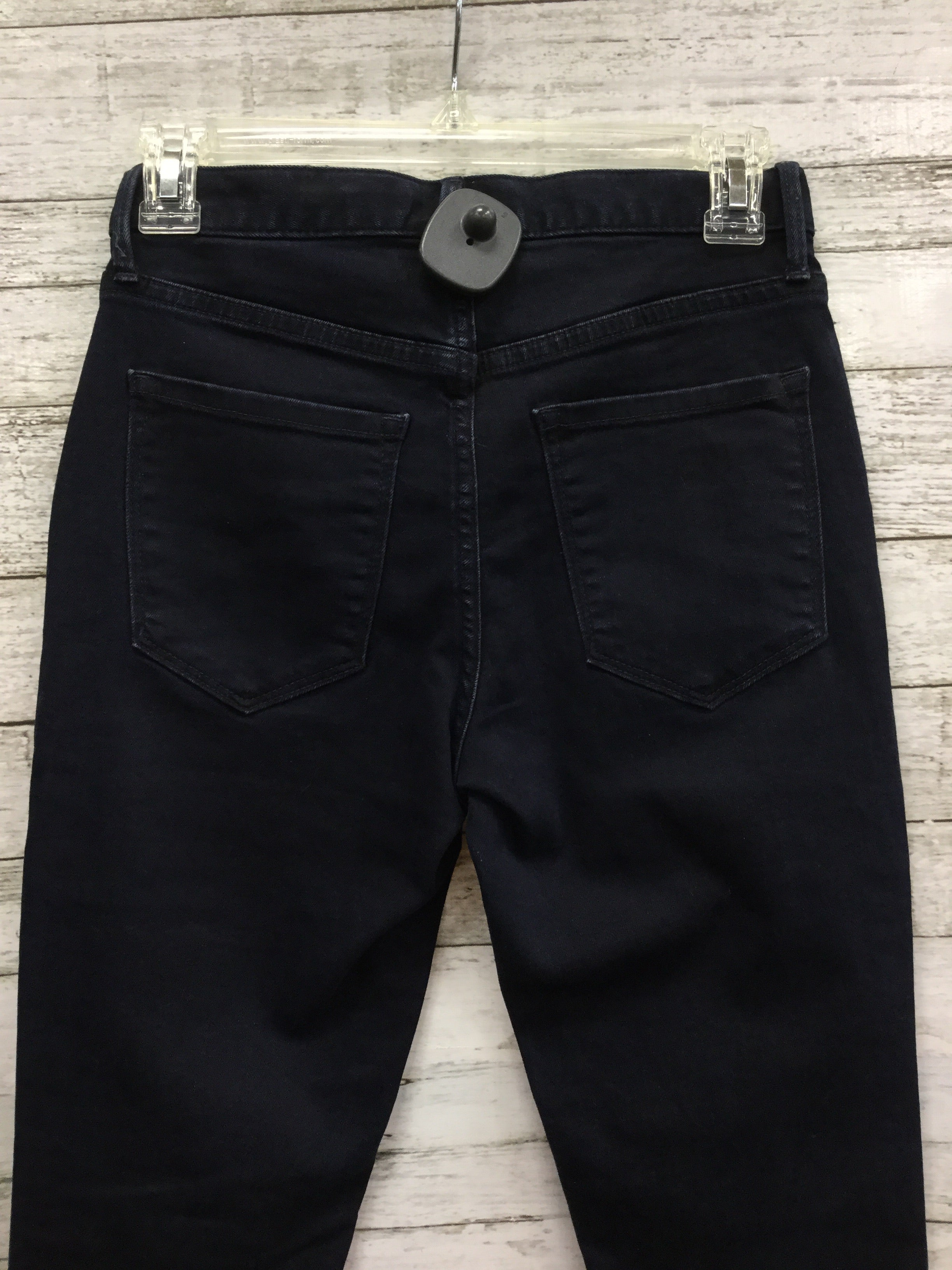 Photo #4 - BRAND: BANANA REPUBLIC , STYLE: JEANS , COLOR: DENIM , SIZE: 0 , OTHER INFO: NEW! , SKU: 127-4954-4755, , NEW WITH TAGS, HIGH RISE, SKINNY, ANKLE JEANS.