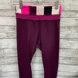 Primary Photo - BRAND: LULULEMON STYLE: ATHLETIC CAPRIS COLOR: PINK PURPLE SIZE: 2 SKU: 127-3371-47996