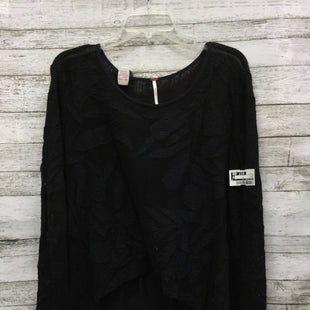 Primary Photo - BRAND: FREE PEOPLE STYLE: TOP LONG SLEEVE COLOR: BLACK SIZE: S SKU: 127-4876-898IN GOOD CONDITION WITH SOME MINOR WEAR.