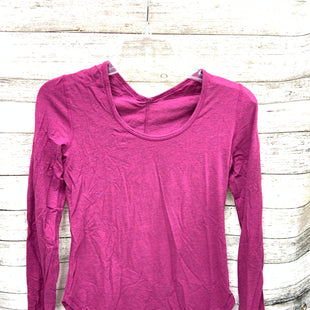 Primary Photo - BRAND: LULULEMON STYLE: ATHLETIC TOP COLOR: RASPBERRY SIZE: S SKU: 127-3371-47987