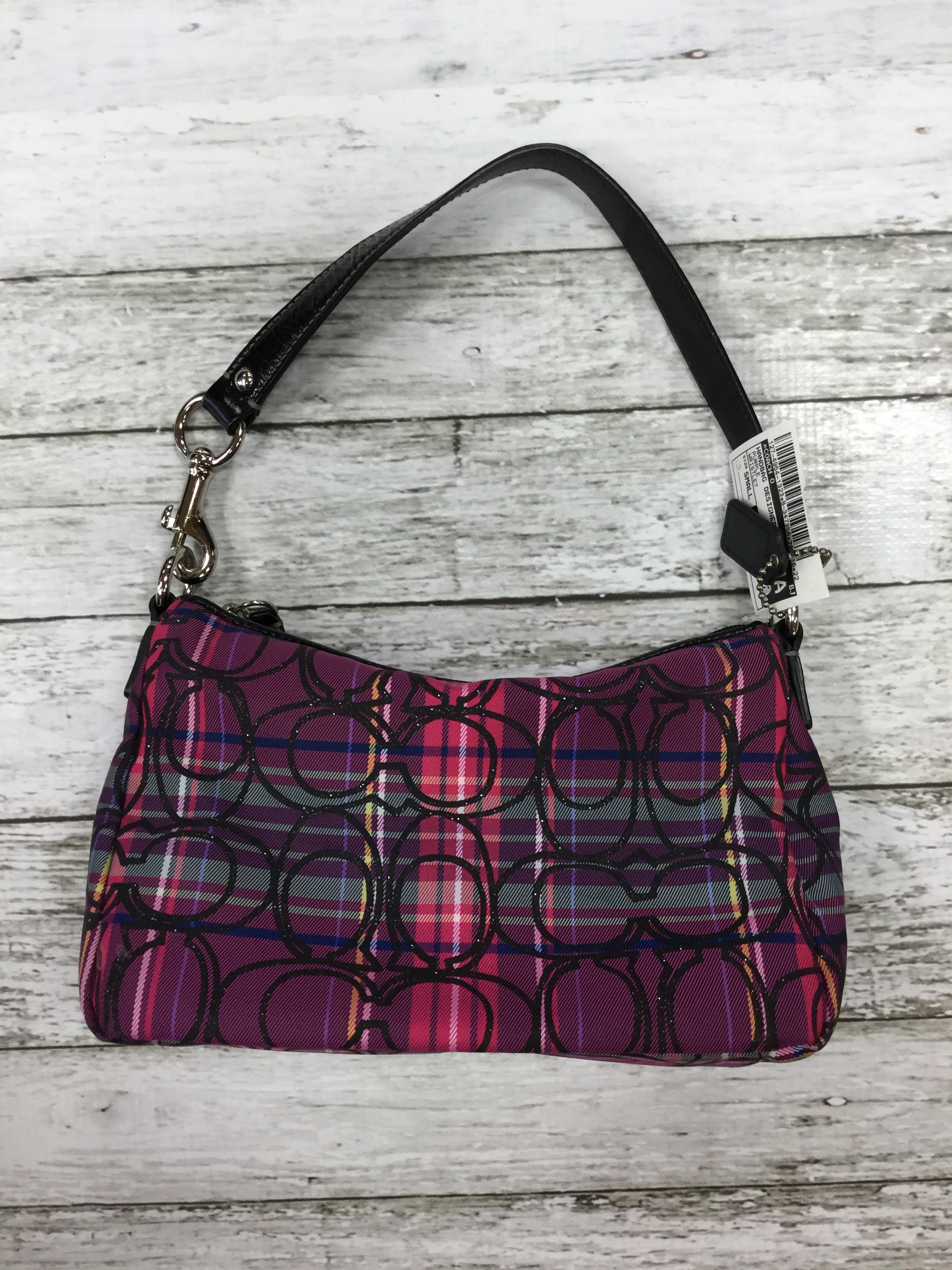 Primary Photo - BRAND: COACH O <BR>STYLE: HANDBAG DESIGNER <BR>COLOR: PURPLE <BR>SIZE: SMALL <BR>OTHER INFO: WRISTLET <BR>SKU: 127-4954-1323