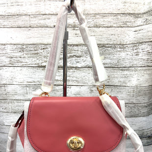Primary Photo - BRAND: COACH STYLE: HANDBAG DESIGNER COLOR: PINK SIZE: MEDIUM OTHER INFO: FAYE SKU: 127-4942-3640