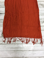Photo #2 - BRAND:    CMD <BR>STYLE: SCARF <BR>COLOR: ORANGE <BR>OTHER INFO: NEW! <BR>SKU: 127-4942-1421