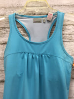 Photo #1 - BRAND: ATHLETA , STYLE: ATHLETIC TANK TOP , COLOR: TURQUOISE , SIZE: S , SKU: 127-4169-22672, , TIE BOTTOM ATHLETA TANK IN GOOD CONDITION. BUILT IN SPORTS BRA.