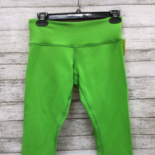 Primary Photo - BRAND: LULULEMON STYLE: ATHLETIC CAPRIS COLOR: LIME GREEN SIZE: 6 SKU: 127-3371-44357THESE CAPRIS ARE IN GOOD CONDITION WITH SOME MINOR PILLING ON THE INSIDE (SEE PHOTOS).