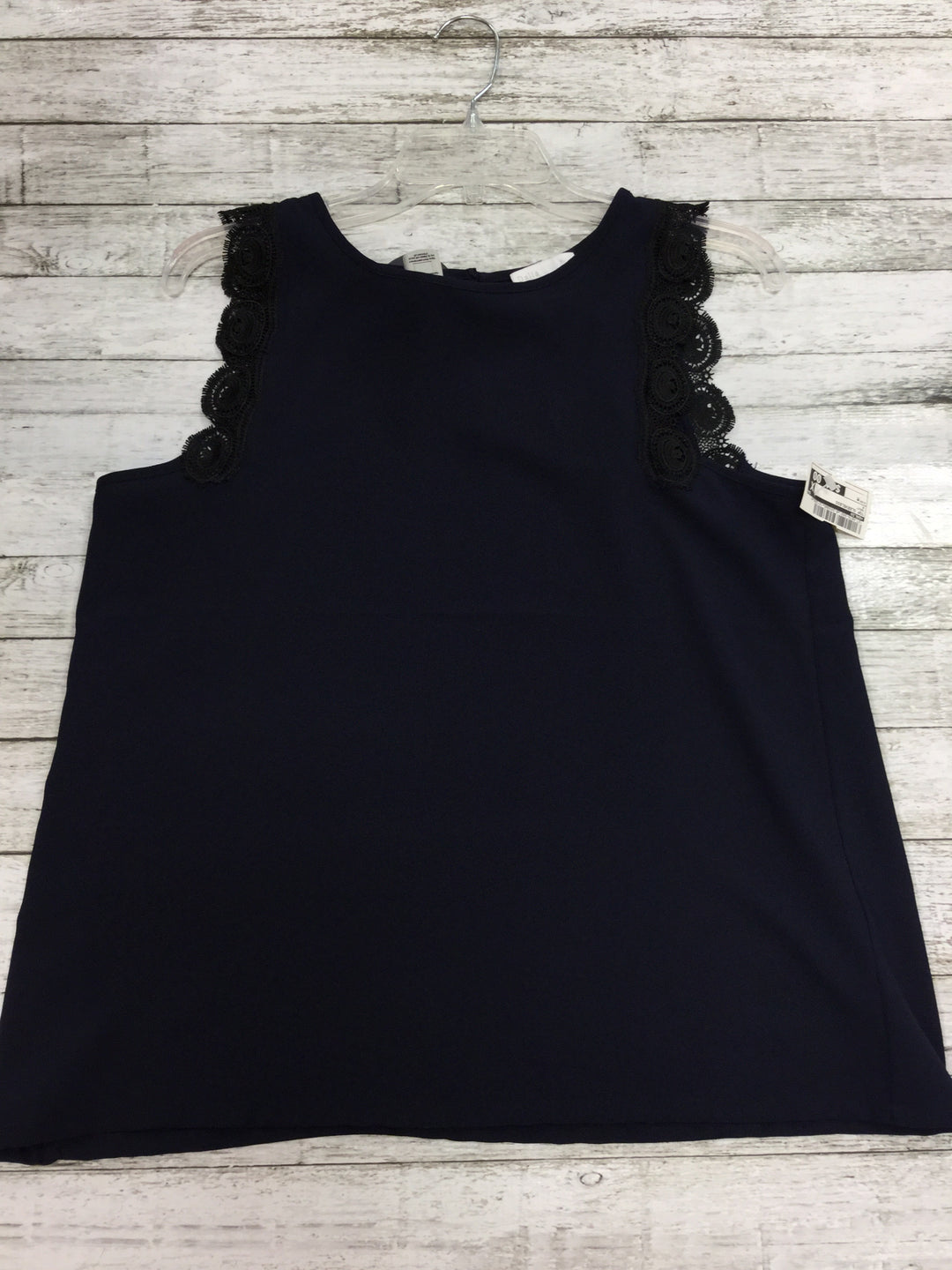 Primary Photo - BRAND: DALIA , STYLE: TOP SLEEVELESS , COLOR: NAVY , SIZE: M , SKU: 127-4876-3491