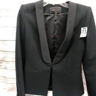 Primary Photo - BRAND: BCBGMAXAZRIA STYLE: BLAZER JACKET COLOR: BLACK SIZE: S SKU: 127-4169-35210