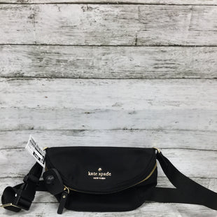 Primary Photo - BRAND: KATE SPADE STYLE: ACCESSORY TAG COLOR: BLACK SIZE: S SKU: 127-2767-92922THIS FANNY PACK HAS SOME MINOR SPOTS ON THE OUTSIDE (SEE PHOTOS FOR DETAILS.) THE STRAP IS ADJUSTABLE TO FIT YOUR WAIST.