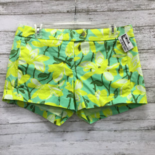 Primary Photo - BRAND: J CREW O STYLE: SHORTS COLOR: GREEN SIZE: 6 OTHER INFO: YELLOW FLORAL SKU: 127-3371-46168YELLOW AND GREEN FLORAL J CREW SHORTS.