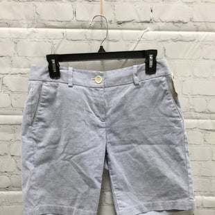 Primary Photo - BRAND: ANN TAYLOR LOFT STYLE: SHORTS COLOR: WHITE BLUE SIZE: 2 SKU: 127-4876-7773