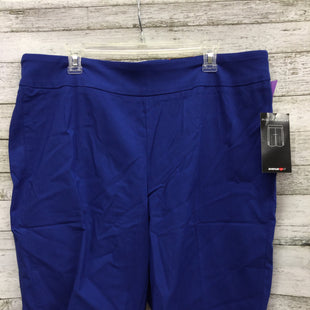 Primary Photo - BRAND: AVENUE STYLE: SHORTS COLOR: ROYAL BLUE SIZE: 18 OTHER INFO: NEW! SKU: 127-4954-5543SUPER STRETCH PULL ON BERMUDA BY AVENUE.