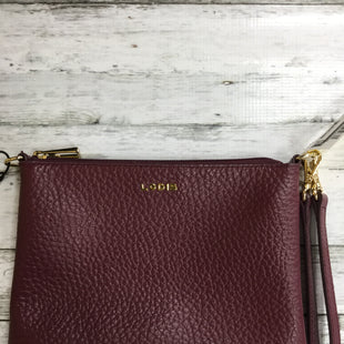Primary Photo - BRAND: LODIS STYLE: WRISTLET COLOR: MAROON SKU: 127-3371-43297