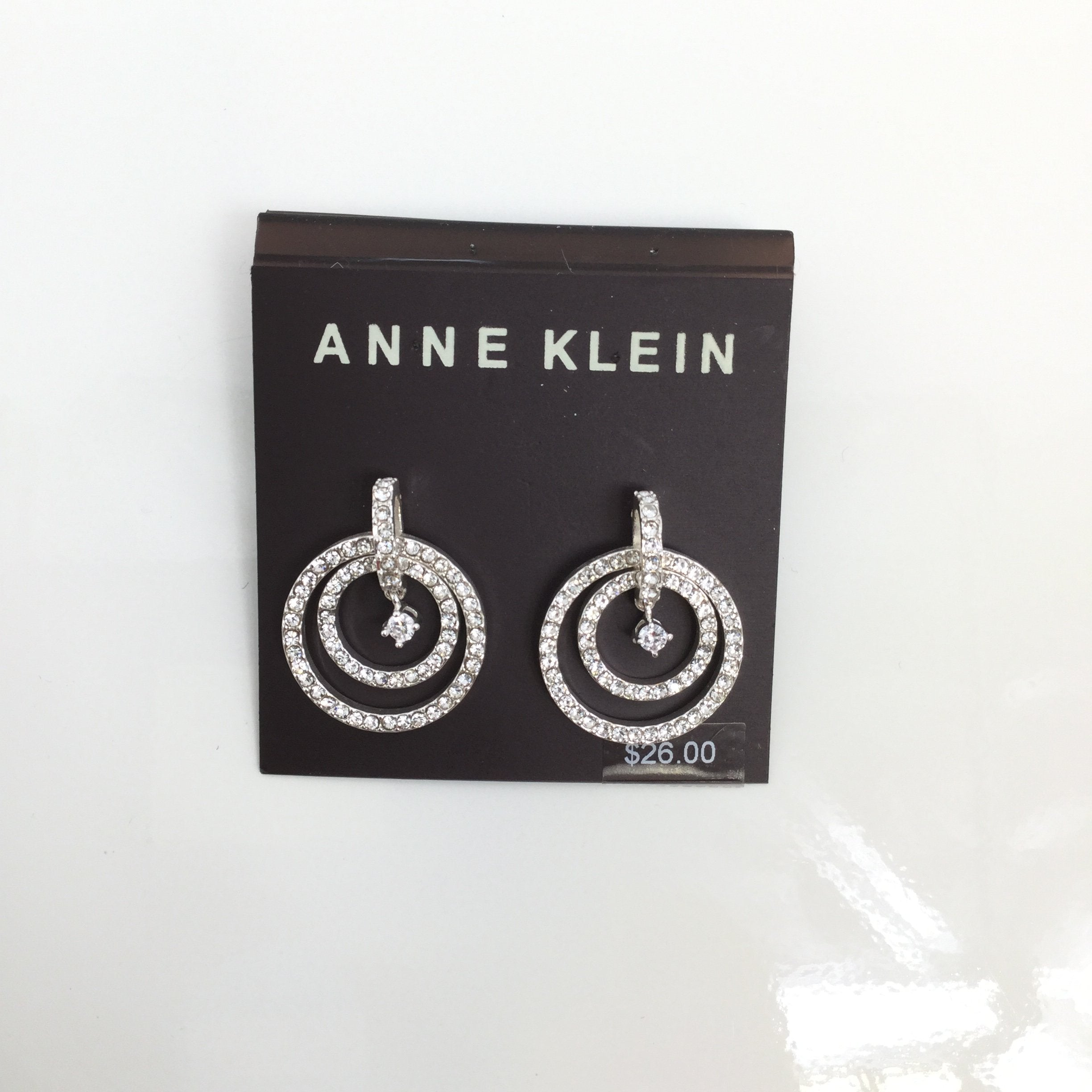 ANNE KLEIN EARRINGS - <P>YOU'LL BE READY FOR NEW YEARS EVE WITH THESE SPARKLY POST EARRINGS FROM ANNE KLEIN! NEW.</P>