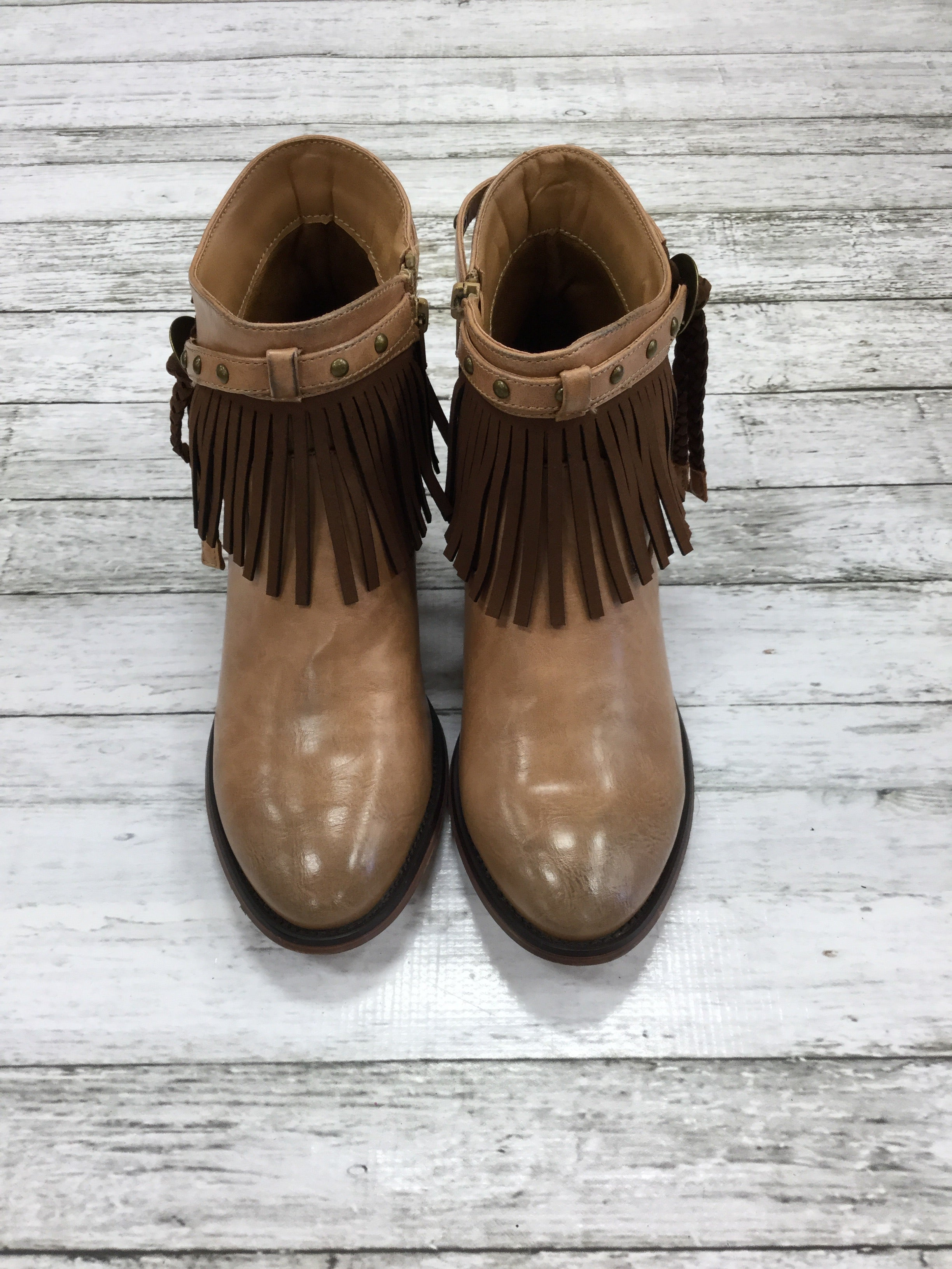 Primary Photo - BRAND:    CMD , STYLE: BOOTS ANKLE , COLOR: BROWN , SIZE: 8 , OTHER INFO: BLAZIN ROXX - , SKU: 127-4072-1801