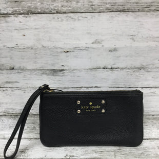 Primary Photo - BRAND: KATE SPADE STYLE: WALLET COLOR: BLACK SIZE: MEDIUM SKU: 127-4942-3736THIS LEATHER WALLET BY KATE SPADE IS IN GREAT CONDITION WITH SOME MINOR WEAR AROUND THE EDGES. THERE ARE TWO SLIP POCKETS INSIDE.