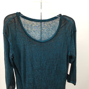 Primary Photo - BRAND: WE THE FREE STYLE: TOP LONG SLEEVE BASIC COLOR: TEAL SIZE: XS OTHER INFO: NEW! SKU: 127-3371-48006