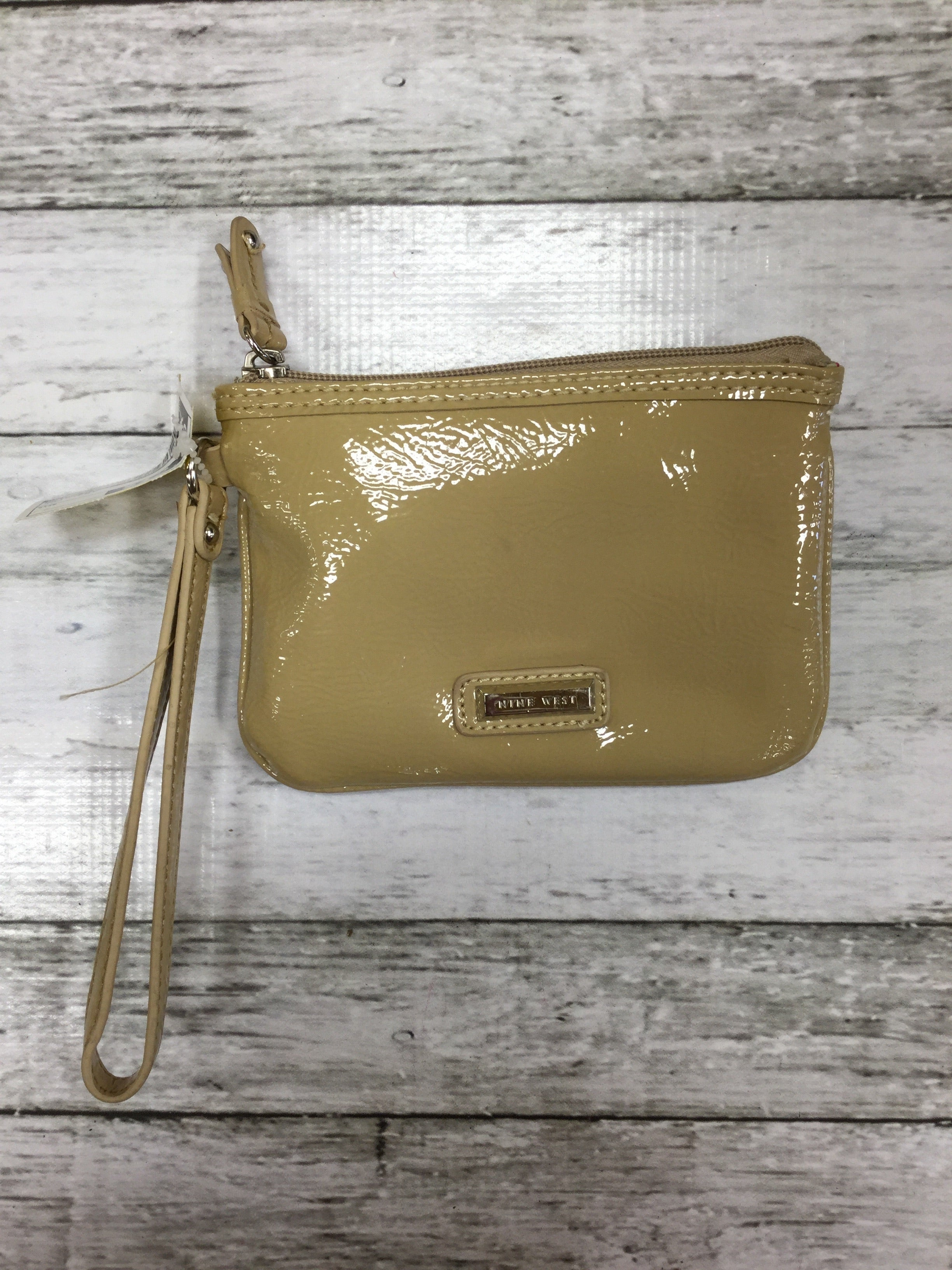 Primary Photo - BRAND: NINE WEST <BR>STYLE: WRISTLET <BR>COLOR: TAN <BR>SKU: 127-4876-4762