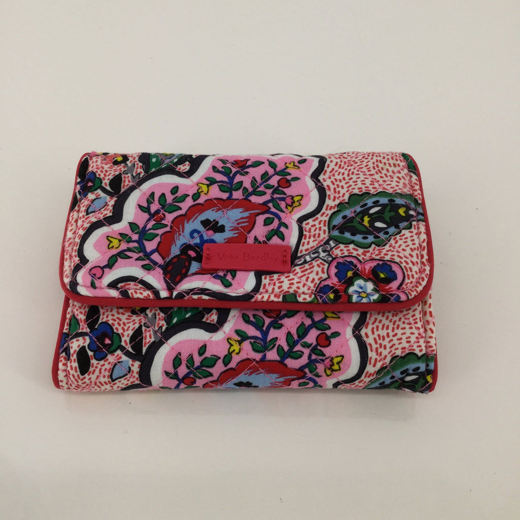 Vera Bradley Wallet, Pink, Size: Small