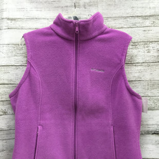 Primary Photo - BRAND: COLUMBIA STYLE: VEST COLOR: LAVENDER SIZE: XL SKU: 127-4169-37561