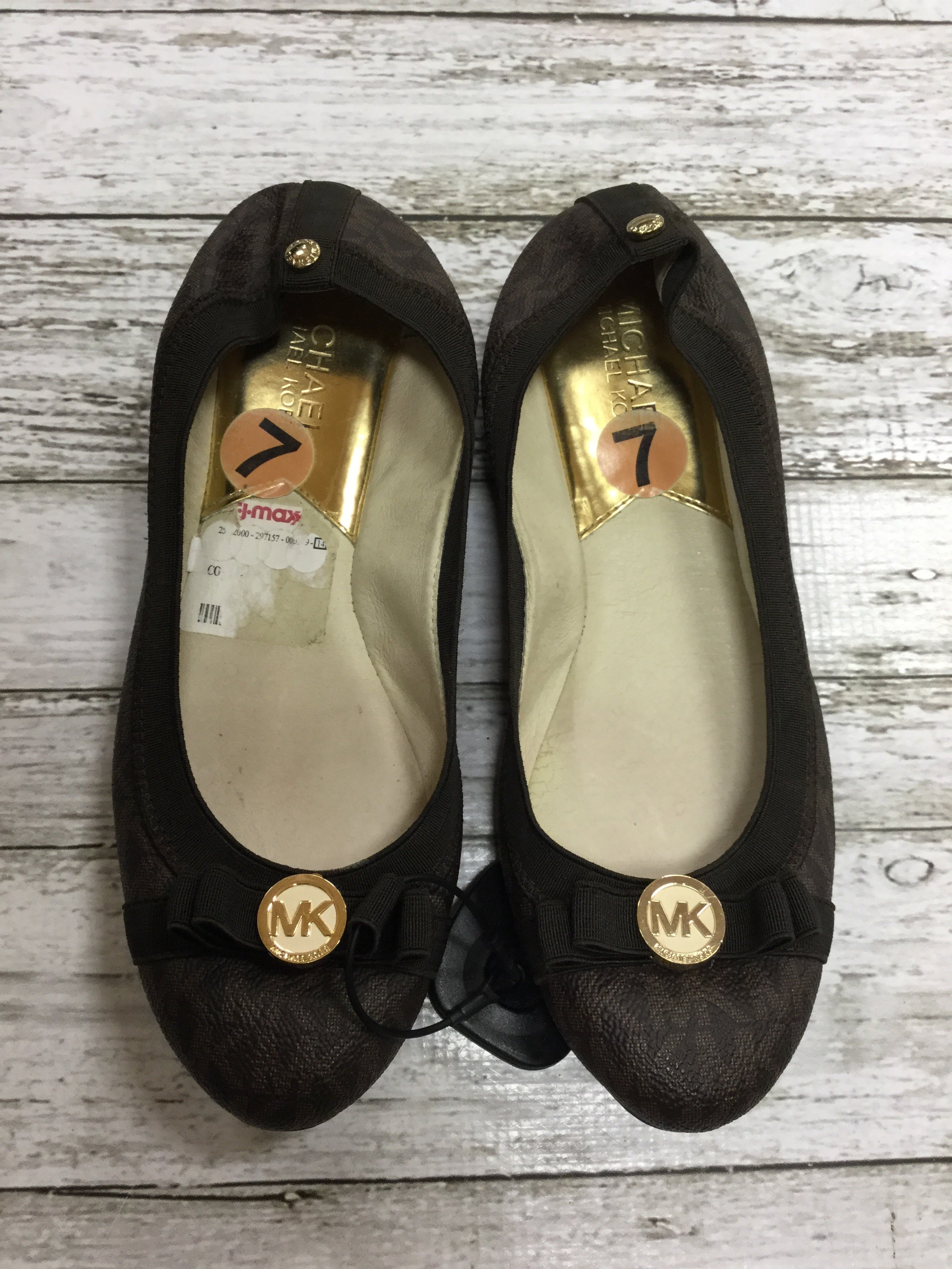 Primary Photo - BRAND: MICHAEL BY MICHAEL KORS <BR>STYLE: SHOES FLATS <BR>COLOR: BROWN <BR>SIZE: 7 <BR>SKU: 127-4169-34556