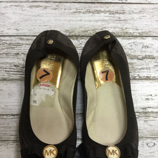 Primary Photo - BRAND: MICHAEL BY MICHAEL KORS STYLE: SHOES FLATS COLOR: BROWN SIZE: 7 SKU: 127-4169-34556
