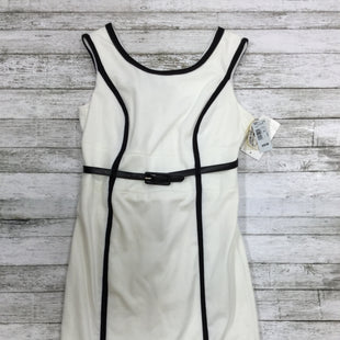 Primary Photo - BRAND: SANDRA DARREN STYLE: DRESS SHORT SLEEVELESS COLOR: WHITE BLACK SIZE: 8PETITE OTHER INFO: NEW! SKU: 127-4876-2124