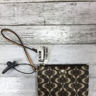 Primary Photo - BRAND: COACH STYLE: WRISTLET COLOR: BROWN SKU: 127-4876-1724