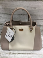 Primary Photo - BRAND: COACH <BR>STYLE: HANDBAG DESIGNER <BR>COLOR: GREY <BR>SIZE: MEDIUM <BR>SKU: 127-4942-1996